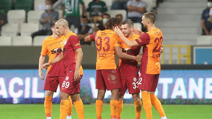 Galatasaray, Giresun deplasmanından 3 puanla döndü