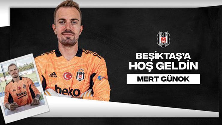Mert Günok resmen Beşiktaş'ta
