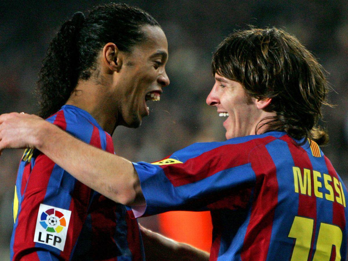 Messi akıl hocası Ronaldinhodan da destek aldı: Aynı yoldan...