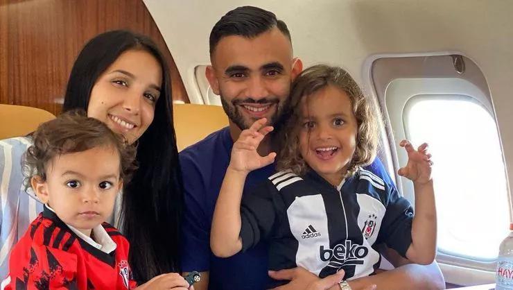 Rachid Ghezzal Beşiktaş için İstanbula geldi