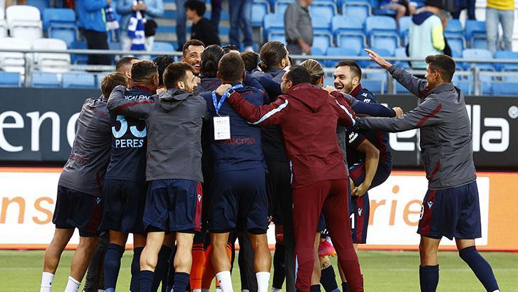 Trabzonspor, Avrupa'da yoluna devam etti