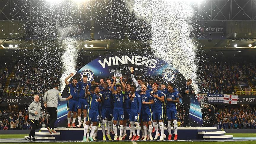 UEFA Süper Kupanın sahibi Chelsea oldu